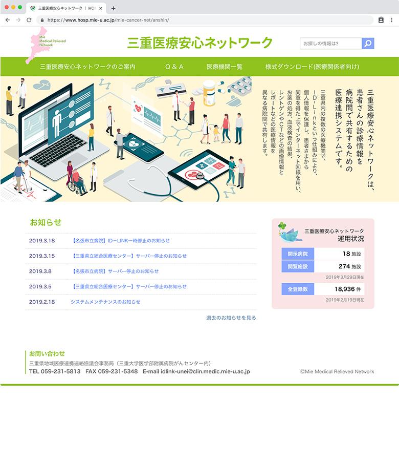 三重医療安心ネットワークトップページ