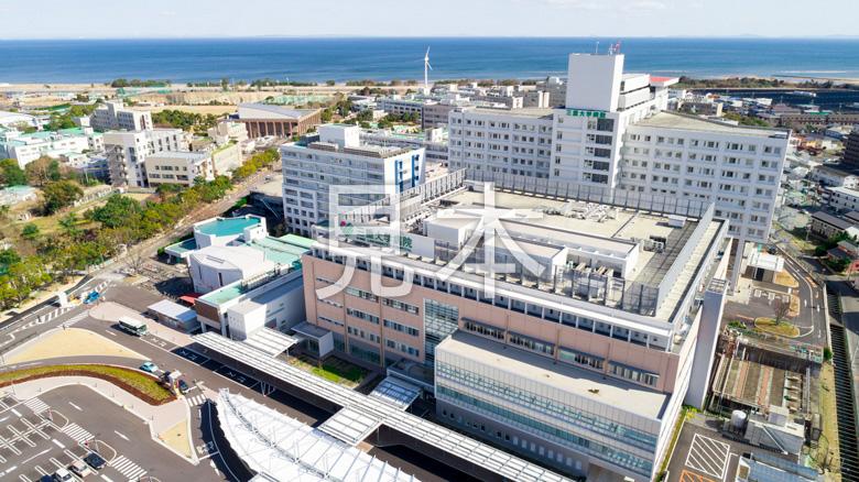 三重大学医学部附属病院 ドローン撮影
